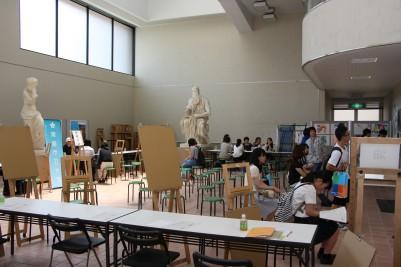 オープンキャンパス 美術学科 .JPG
