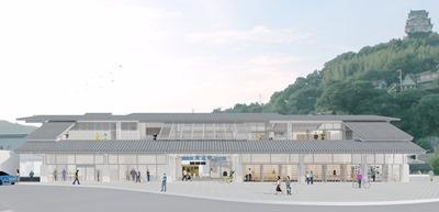 尾道駅正面イメージ