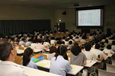 オープンキャンパス 経済情報学科 模擬講義.JPG