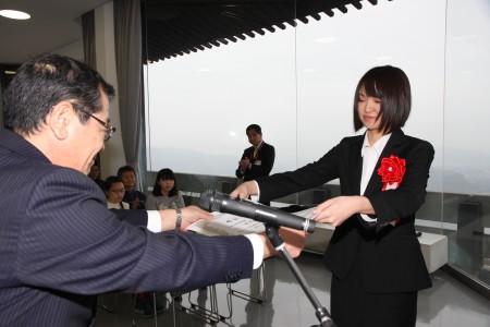 和作奨励賞 塔尾栞莉さん.JPG